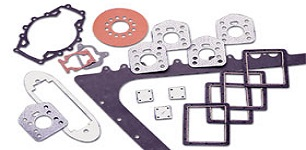 Custom rubber gaskets - molded and die cut